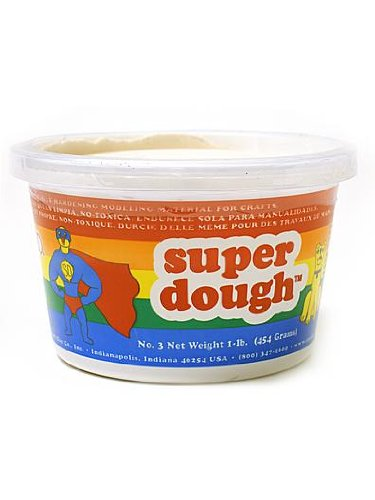 Amaco Super Dough Modeling Compound [Pack of 2 ]