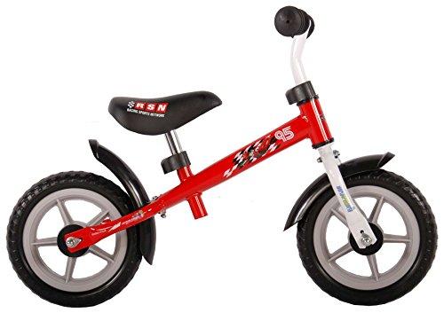 vélo sans pédales pour enfant 10 pouces Disney Cars 2 rouge