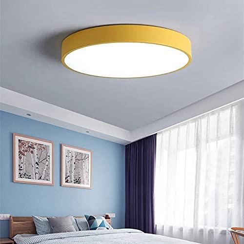 Plafoniera LED Soffitto 24W, Rotonda Lampada da Soffitto Bianco Caldo Freddo 6000K per Corridoio, Camera da Letto, Soggiorno