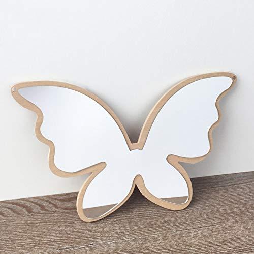 HUIHH - Espejo de Pared para habitación Infantil, irrompible, acrílico, diseño de Conejo y Mariposa