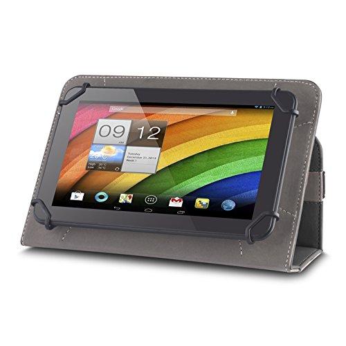 andyhandyshop Bookstyle Tablet PC Tasche Etui Hülle Case 10-10,1 Zoll schwarz für Medion Lifetab E10711