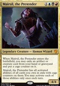Magic The Gathering Mairsil, the Pretender – Mairsil, el pretendente – Commander 2017 – Foil