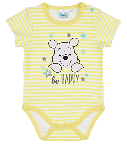 Winnie l'ourson Babies Boys Body - jaune - 24M