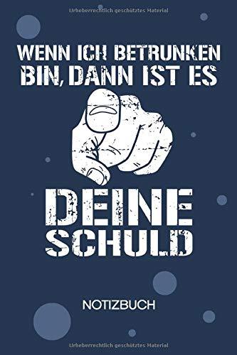 NOTIZBUCH A5 Blanko: Saufkopf SKIZZENBUCH - 120 Seiten für Notizen Skizzen Zeichnungen - Saufen Notizheft Bier - Saufen Geschenk für Biertrinker Bierliebhaber Säufer