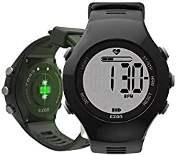 EZON Optical Heart Rate Monitor Outdoor Sports Waterproof Fitness Tracker Watch with Pedometer and Calories Counter Digital Watch for T043