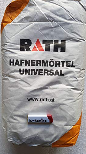 1,28€/kg Rath Hafnermörtel Universal Schamottmörtel 25Kg
