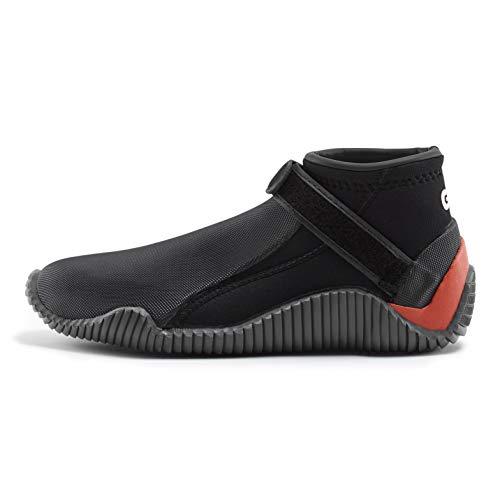 Gill Aquatech 3mm Neoprene Wetsuit Shoes - Black - Waterproof Sprayproof - Unisex - Blindstitched Seams for Waterproof Seal