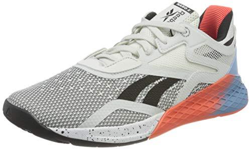 Reebok Nano X, Zapatillas de Deporte Mujer, Blanco/FLUBLU/VIVDOR, 39 EU