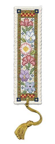 Textile Heritage Medieval Garden Bookmark - Cross Stitch Kit