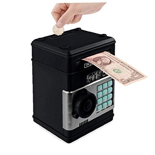 TOPofly Electrónica Hucha Hucha Seguro para Niños Monedas Digitales Efectivo Ahorro Caja Fuerte Máquina Regalo del día de San Valentín