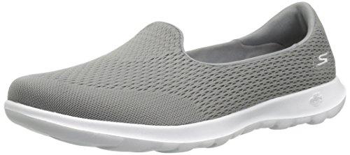 Skechers Go Walk Lite-15410 Loafer, flach, Grau (grau), 36 EU
