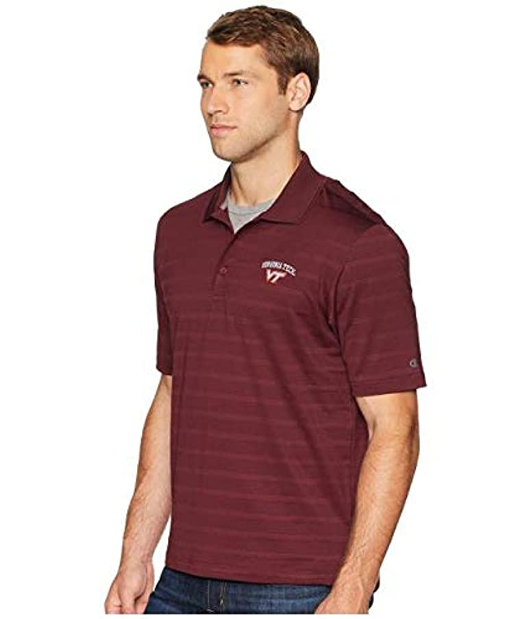 ジェム比較顕著Champion College Virginia Tech Hokies Textured Solid Polo 服 【並行輸入品】