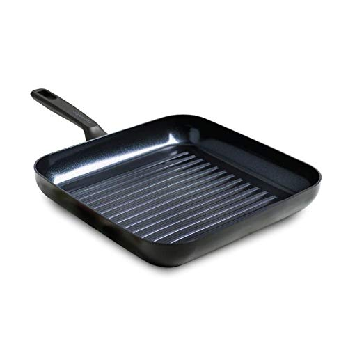 GreenPan Grill Pan, Non Stick, Toxin Free Ceramic Grill Pan - Induction,...