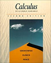 By Earl W. Swokowski - Calculus of a Single Variable (2nd Edition) (1994-01-14) [Hardcover]