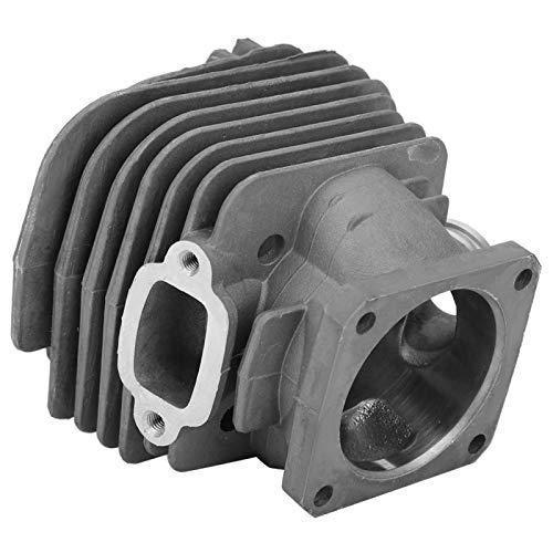Aoer Kit de pistón de Cilindro de Motosierra, Cromado Aluminio Fundido a presión Estructura compacta fácil de Usar Pistón de Cilindro Diámetro de pistón 48 mm para ensamblaje de Cilindro MS360