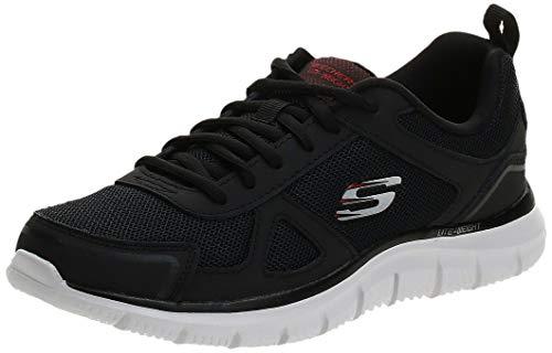 Skechers Track-Scloric 52631-Bkrd, Hombre, Negro (Negro 52631/Bkrd), 42 EU