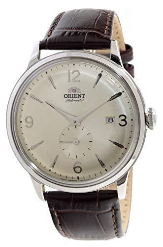 Orient Reloj mecánico clásico vintage pequeño subsegundos champán AP0003S