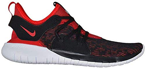 Nike Men's Flex RN 2019 Running Shoe (11.5 M US, Black/University Red-White)