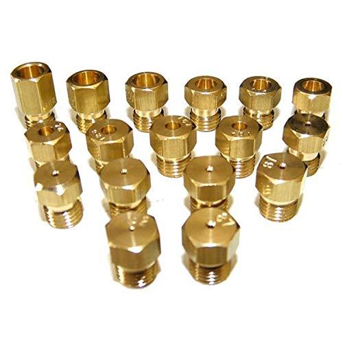 Kit complet injecteur gaz naturel - butane - propane Four, cuisinière C00254296 INDESIT, ARISTON HOTPOINT