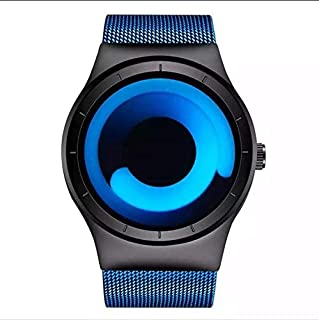 Geekthink Casual Watch For Unisex Analog Stainless Steel - WM9619