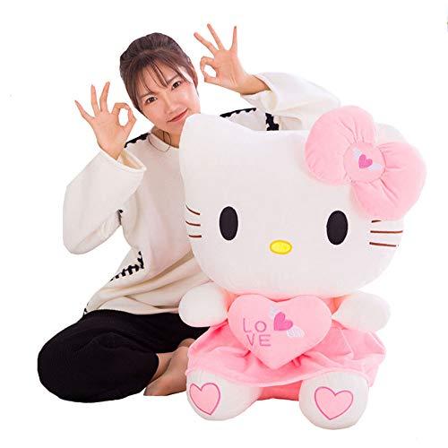 XQYPYL Hello Kitty Lindo Juguete de Peluche Suave Almohada