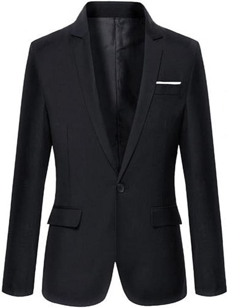 Men Blazers Spring Autumn Men's Coat Male Color Blazer Long