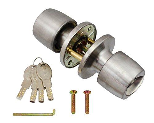日中製作所 ディンプルキータイプ取替錠 握玉のみ 一般型タイプ(AGE・COW・SHOWA・GOAL(ゴール)・ALPHA(アルファ))タイプ用 CW-123D-1型