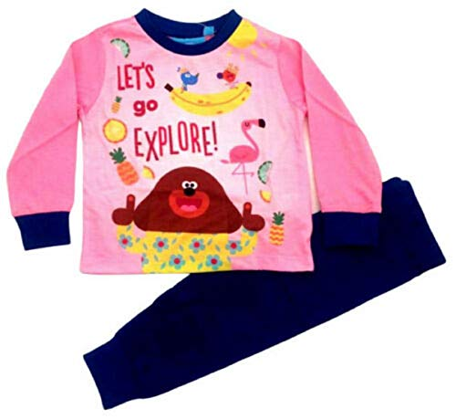 Girls Official Licensed Hey Duggee Snuggle Fit Long Pyjamas Age 3 4Years