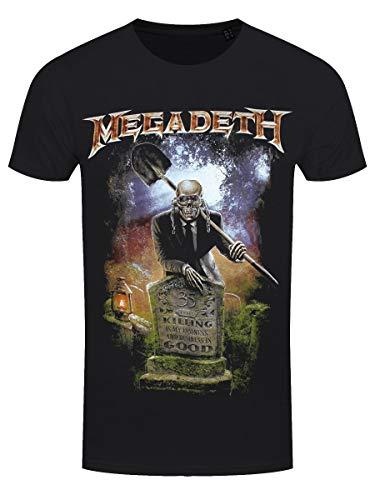 Megadeth 35 Years Graveyard T-Shirt S