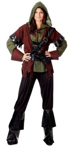 r-dessous Robin Hood Damen Kostüm Lady Marian Mittelalter Karneval Fasching Motto Party Groesse: S/M