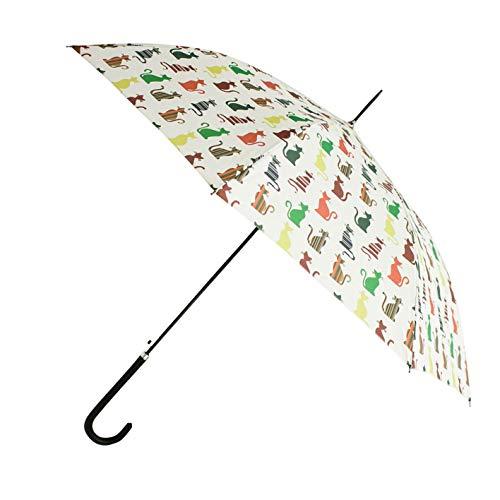 Signare Mode Stockschirm Regenschirm Stil Modell Lustige Katzen fur Damen