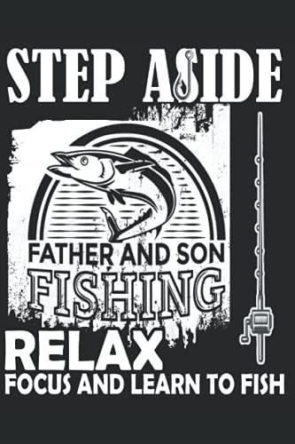 Vai sul lato relax e impara a pescare: Carta foderata per notebook con 120 pagine in formato 15 x 22, 86 cm