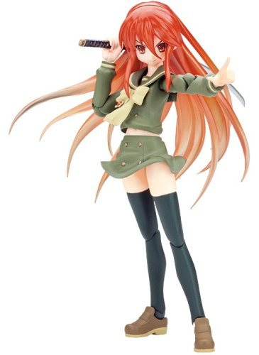 Shana 2: Shana Red Hair Ver. Non-Scale Figma Action Figure [Toy] (japan import)