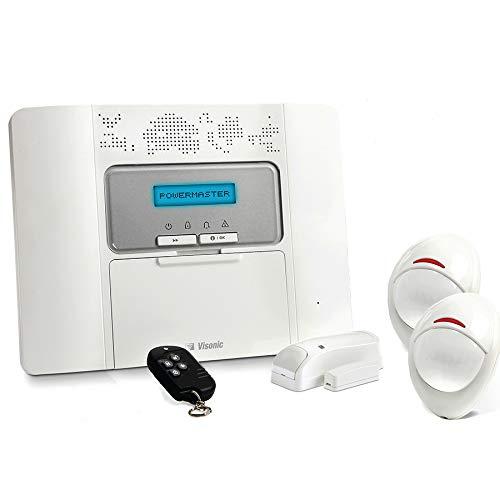 Visonic - Alarme Maison Sans Fil PowerMaster 30 - Kit 2