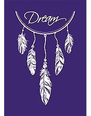 Rayher Stencil Dreamcatcher Plumas, multicolor, A5