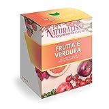 Naturalisse FRUTTA E VERDURA - Integratore Alimentare con 9 Estratti di Frutta e Verdura - Azione Antiossidante, Multivitaminica, Drenante E Regolarizzante – 30 capsule