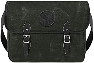 product image for Duluth Pack Standard Book Bag, Wax Olive Drab, 11 x 16 x 4-Inch