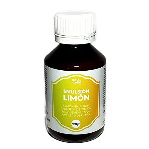 Emulsión para Repostería – Aporta Aroma y Sabor a tus Tartas, Bizcochos y Galletas – 120 Gramos (Limón)