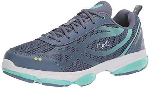 Ryka Women's Devotion XT Walking Shoe Sneaker, Flintstone, 10.5