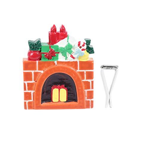 Holibanna Difusor de Coche de Navidad Clip de Ventilación Clip de Perfume Automático Ambientador Difusor Ambientador de Coche Accesorios de Coche (Casa de Navidad)