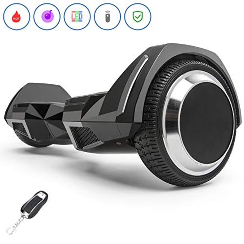 Spadger Hoverboard 350w Scooter 6.5' Off Road Wheels Self Balancing Hoverboard...