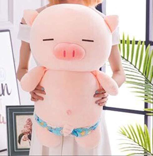 Weiche Schwein Plüsch Spielzeug Puppe Schlafendes Kissen Puppe Puppe Kind Mädchen Geschenk Nette Form 40 cm (0,3) Badehose Schwein Rosa Pantssize Name: 40 cm (0,3) Farbe Name: Schwimmstämme Schwimmstä