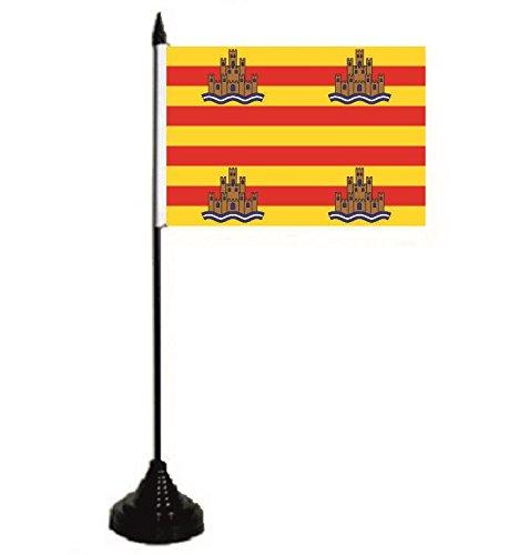 U24 tafelvlag Ibiza vlag tafelvlag 10 x 15 cm