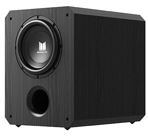 Monolith Powered Subwoofer - 10 Inch with 500 Watt Amplifier, THX Certified, Ideal for Professional...