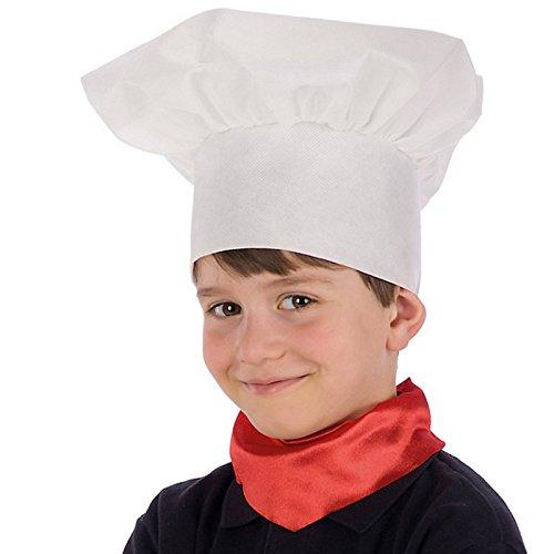 LCN Chapeau Toque de Chef Enfant - Accessoire Deguisement Cuisinier - 637