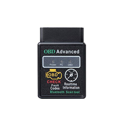 2021 Eonon V0056 OBD2 OBDII Diagnostic Scanner Bluetooth Scan Tool Adapter ELM327 for Eonon Head Unit with Android 4.4 to 10 System for GA9451,GA9449,GA9480A and All of The Eonon Car Radios