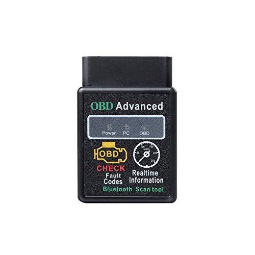 2021 Eonon V0056 OBD2 OBDII Diagnostic Scanner Bluetooth Scan Tool Adapter ELM327 for All Eonon Car Stereos: GA2185, GA2192, GA2187, GA9480B, GA9465B, GA9453B, GA9463B, GA9451B, GA9476B, GA9498B