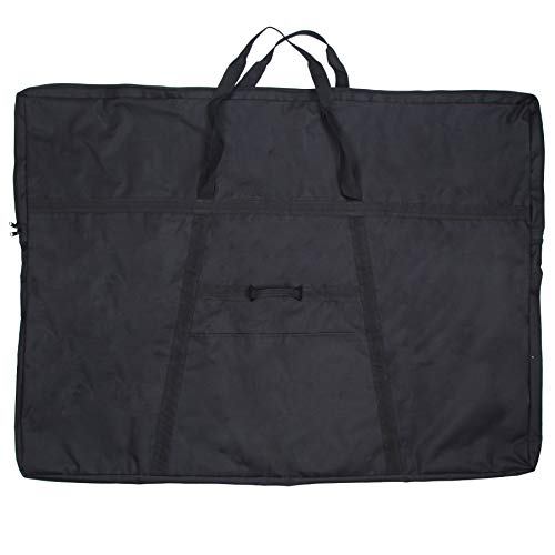 Jjring Dacron Light Weight Art Portfolio Bag, 36 Inches by 48 Inches, Black