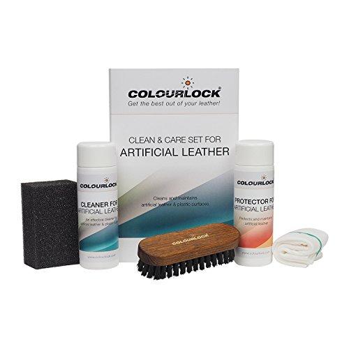 KIT vinilo/polipiel/skay Colourlock limpia y mantiene polipiel, skay y plásticos de sofás, barcos, coches, moto, etc