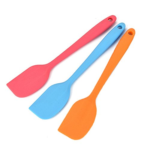Kochutensilien – Silikon Küche Set in hygienischer massiver Beschichtung – hitzebeständige Backwerkzeuge type3